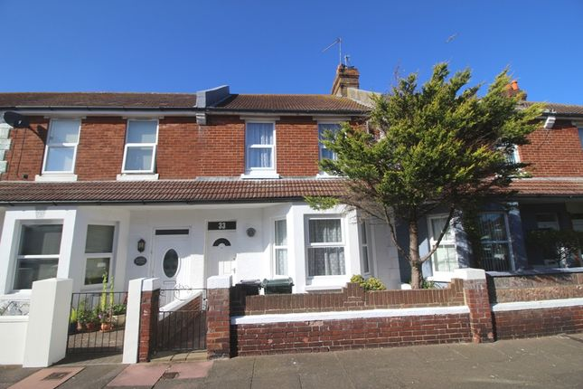Thumbnail Terraced house for sale in Seaford Road, Redoubt, Eastbourne