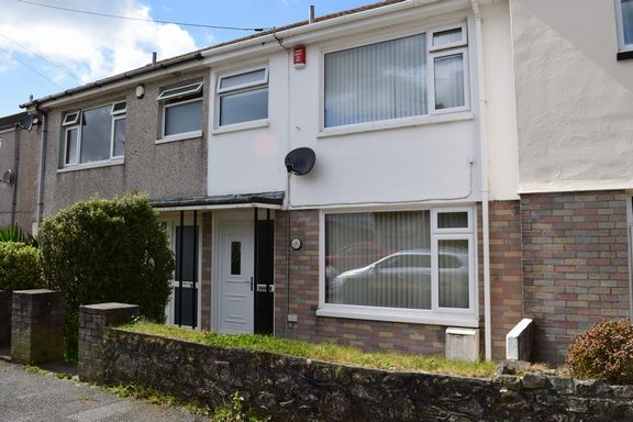 Thumbnail Terraced house for sale in Redbrooke Terrace, Camborne