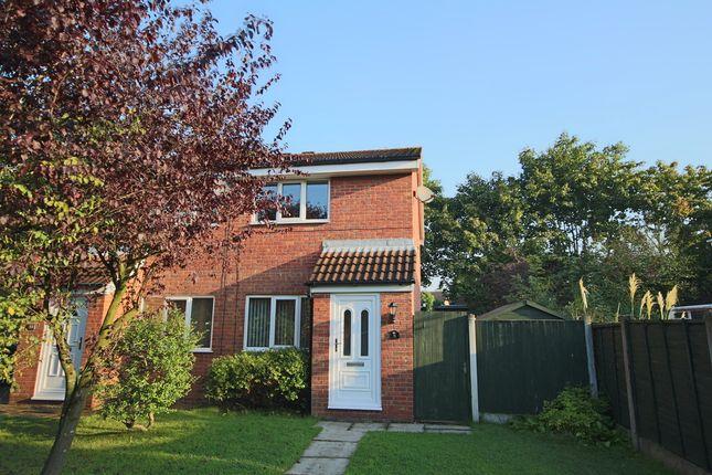 Thumbnail Semi-detached house to rent in Marsh Way, Penwortham, Preston