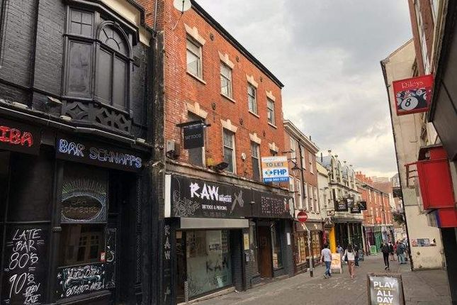 Thumbnail Leisure/hospitality for sale in 22-24 St James Street, Nottingham, Nottingham