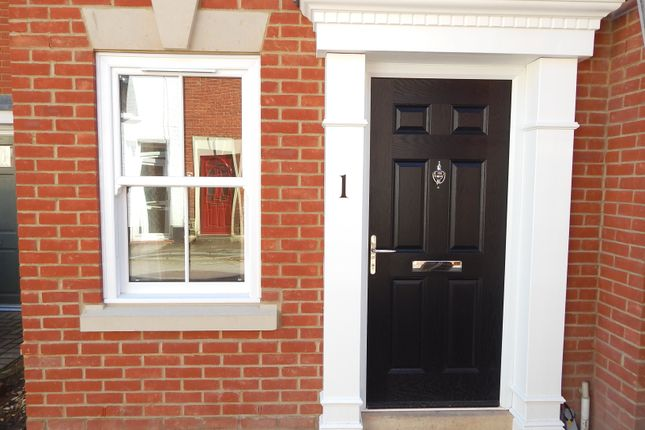 Thumbnail End terrace house to rent in Dawn Row, North Street, Salisbury