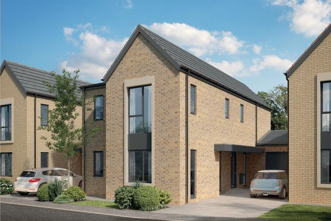 Thumbnail Link-detached house for sale in The Redlake, Bramble Way, Combe Down, Bath, Somerset