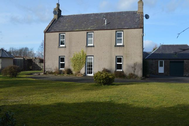 Thumbnail Detached house to rent in Kilry, Alyth, Blairgowrie