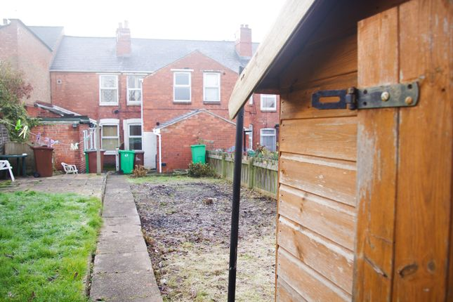 Garden of Latham Street, Bulwell NG6
