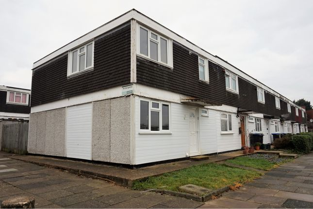 Thumbnail End terrace house for sale in Lower Meadow, Harlow