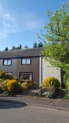 Thumbnail Semi-detached house to rent in Woodlands Avenue, Fern, Forfar