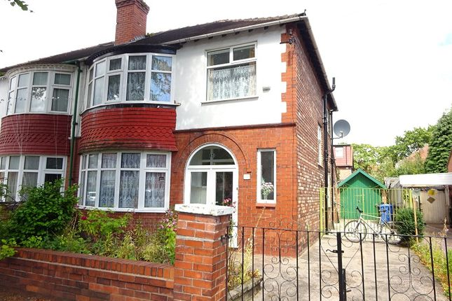 Thumbnail Semi-detached house for sale in Ruskin Road, Old Trafford, Manchester, Greater Manchester.