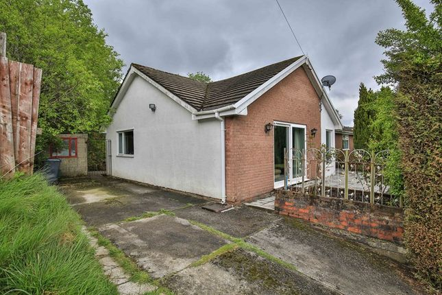 Thumbnail Detached bungalow for sale in Hillview, Tredegar