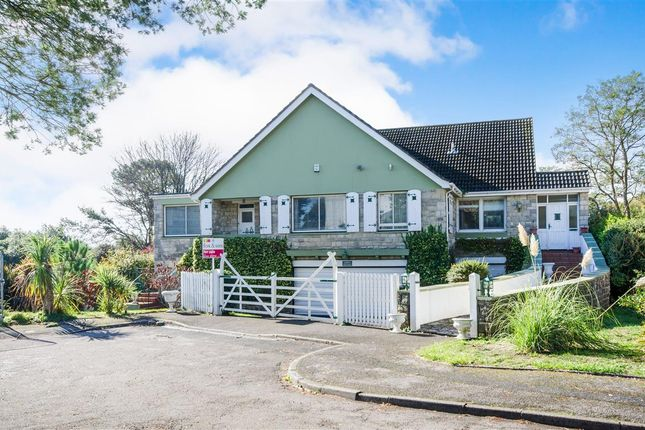 Thumbnail Detached bungalow for sale in Meriden Close, Canford Cliffs, Poole