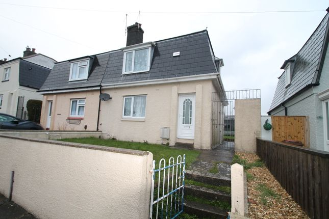 Thumbnail Semi-detached house for sale in Mount Gould Road, Plymouth