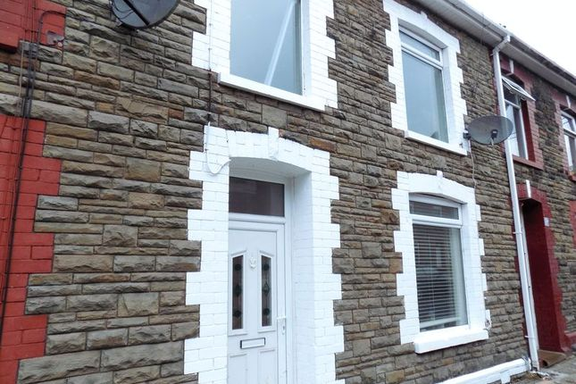 Thumbnail Terraced house to rent in Coronation Street, Trethomas, Caerphilly