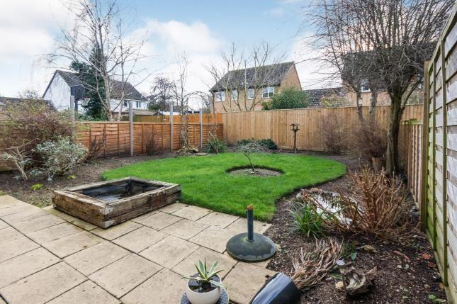 Garden of Kestrel Way, Bicester, Oxfordshire OX26