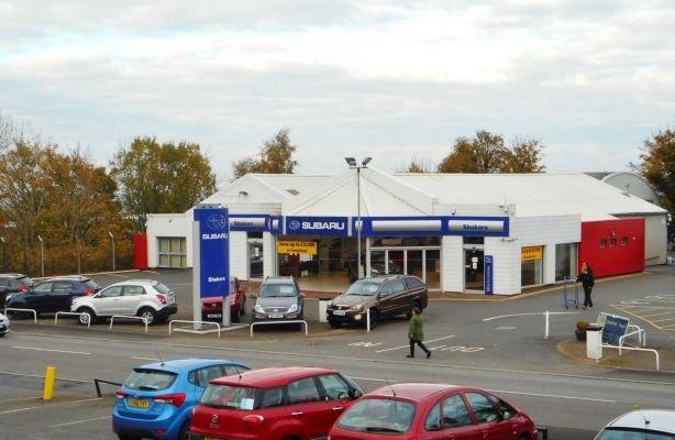 Thumbnail Retail premises to let in Car Showroom, Holyhead Road, Telford, Shropshire