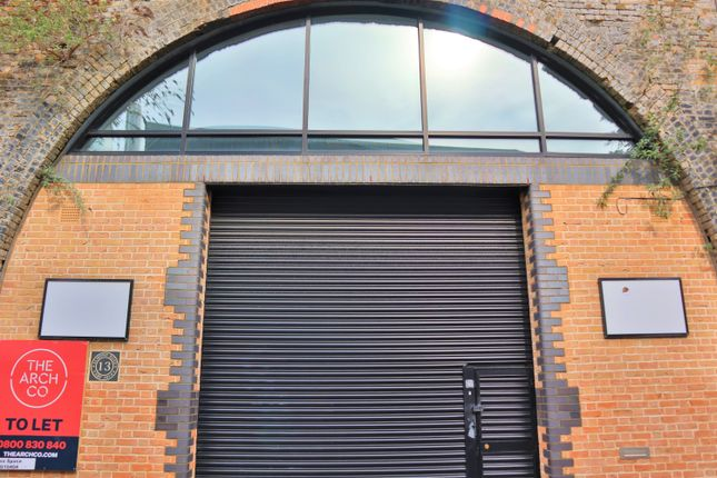 Industrial to let in Almond Road, London