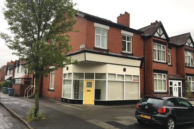 Thumbnail Retail premises for sale in 14 Milton Grove, Whalley Range, Manchester, Greater Manchester