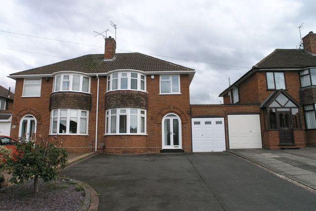 Thumbnail Semi-detached house to rent in Longmoor Road, Hayley Green, Halesowen