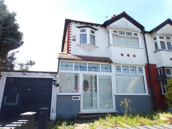Thumbnail Semi-detached house for sale in Greenwich Road, Liverpool, Merseyside, .