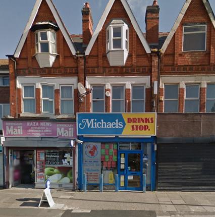 Thumbnail Flat to rent in Warwick Road, Birmingham