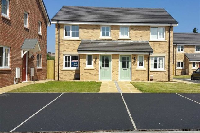 Thumbnail Semi-detached house for sale in Brunel Wood, Upper Bank, Pentrechwyth