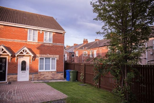 Thumbnail Semi-detached house to rent in Carrside Mews, Blyth