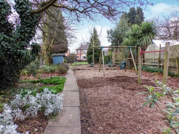 Garden of Fosse Way, Syston, Leicester, Leicestershire LE7