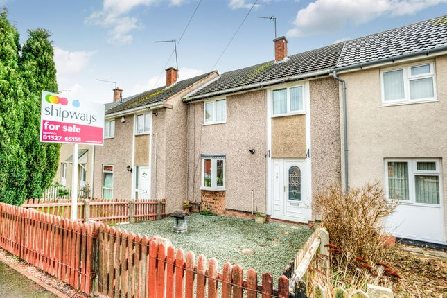3 bed terraced house for sale in Neville Close, Abbeydale, Redditch
