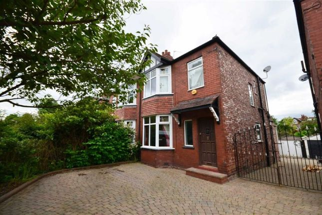 Thumbnail Semi-detached house to rent in Alan Road, Heaton Moor, Stockport