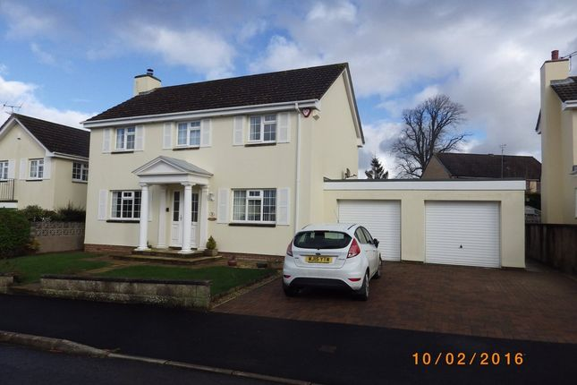 Thumbnail Detached house to rent in Rumsam Gardens, Barnstaple