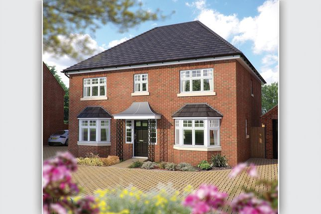 "Thumbnail Detached house for sale in ""The Winchester"" at Station Road, Long Buckby, Northampton"