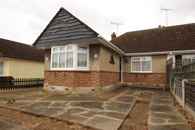 Thumbnail Bungalow to rent in Gravel Road, Eastwood, Leigh-On-Sea