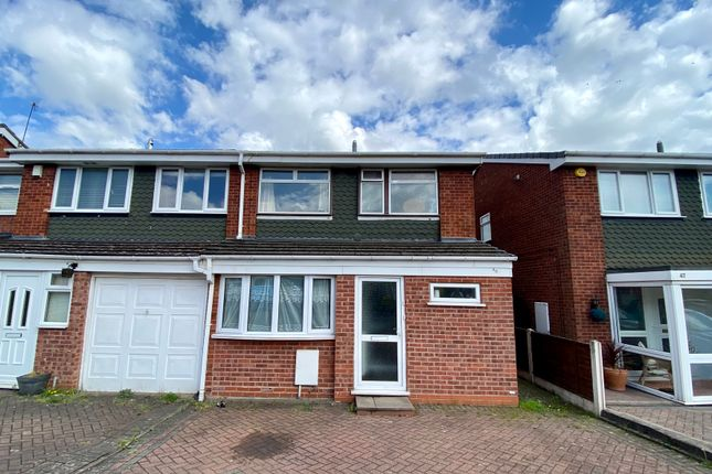 Thumbnail 3 bed semi-detached house for sale in Brookside, Great Barr, Birmingham