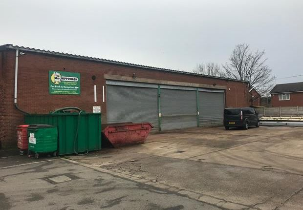 Thumbnail Light industrial to let in Unit 1 Poplar Grove Industrial Estate, Crewe, Cheshire