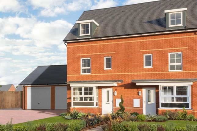 """Thumbnail End terrace house for sale in """"Woodbridge"""" at Station Road, Methley, Leeds"""