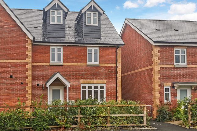 3 bed semi-detached house to rent in Bookers Edge, Newport Street, Hay-On-Wye, Hereford HR3
