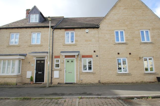 Thumbnail Terraced house to rent in Jasmine Way, Carterton