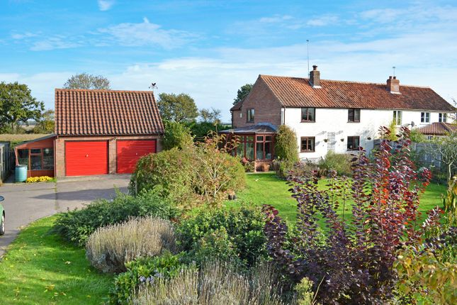 Thumbnail Semi-detached house for sale in Staithe Road, Burgh St. Peter, Beccles