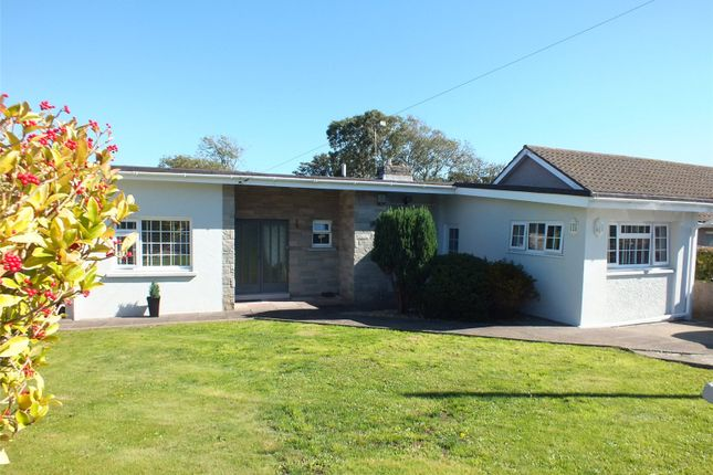 Thumbnail Detached bungalow for sale in Westaway Drive, Hakin, Milford Haven