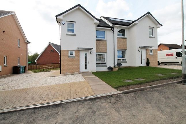 Thumbnail Semi-detached house for sale in Brentnall Grove, Motherwell