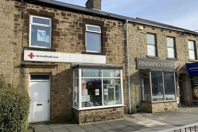 Thumbnail Retail premises for sale in 59 Medomsley Road, Consett, County Durham