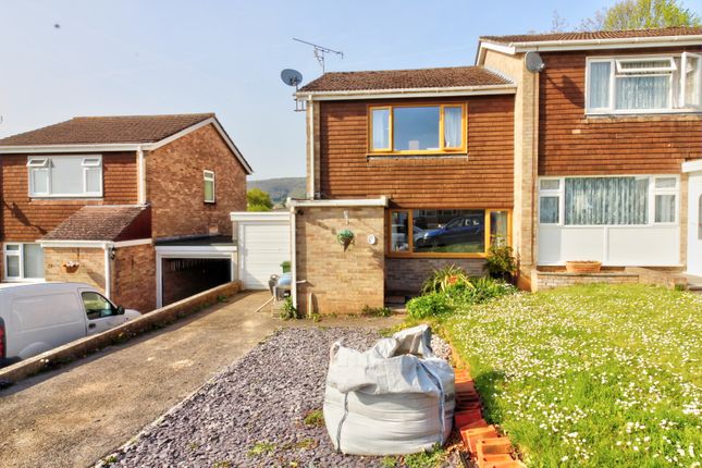 Thumbnail Semi-detached house for sale in Froglands Way, Cheddar