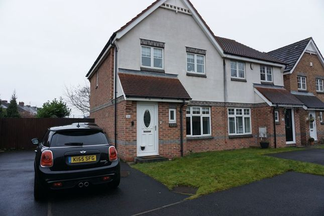 Thumbnail Semi-detached house for sale in Church View, Wallsend