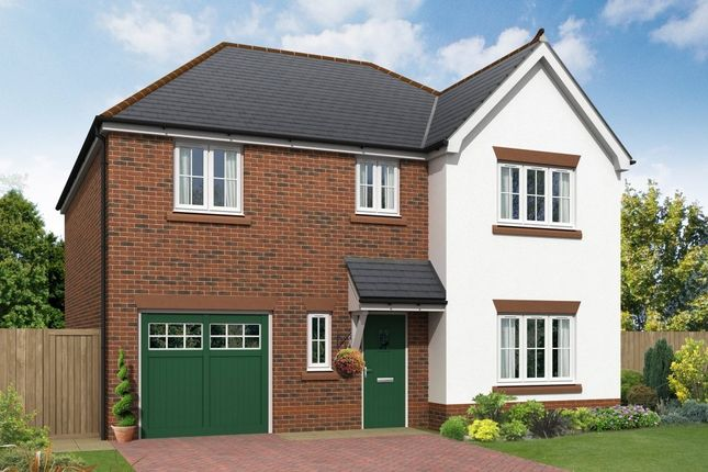 "Thumbnail Detached house for sale in ""Alvechurch"" at Boundary Park, Parkgate, Neston"