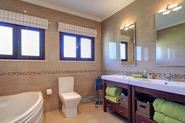 Tiled Bathroom With Corner Tub