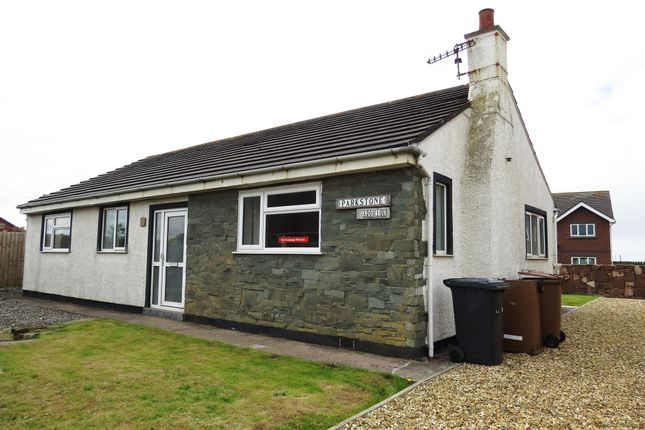Thumbnail Detached bungalow for sale in Parkstone, The Banks, Seascale, Cumbria