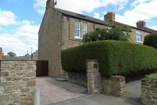 Thumbnail End terrace house for sale in Chamberlain Street, Crawcrook, Ryton