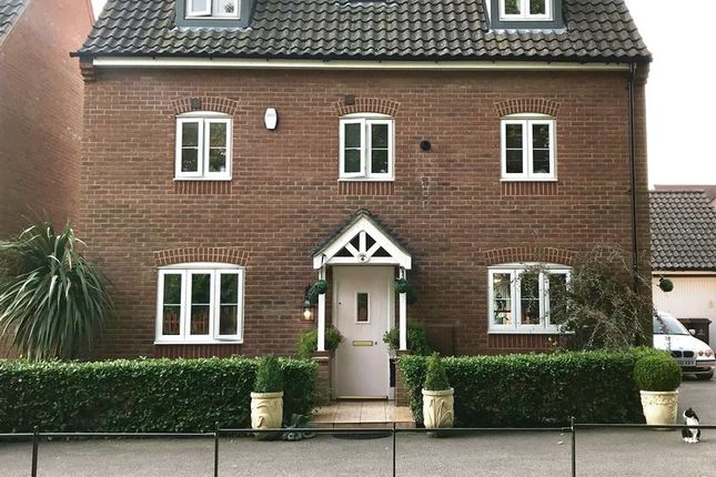 Thumbnail Detached house for sale in Washington Drive, Carbrooke, Thetford