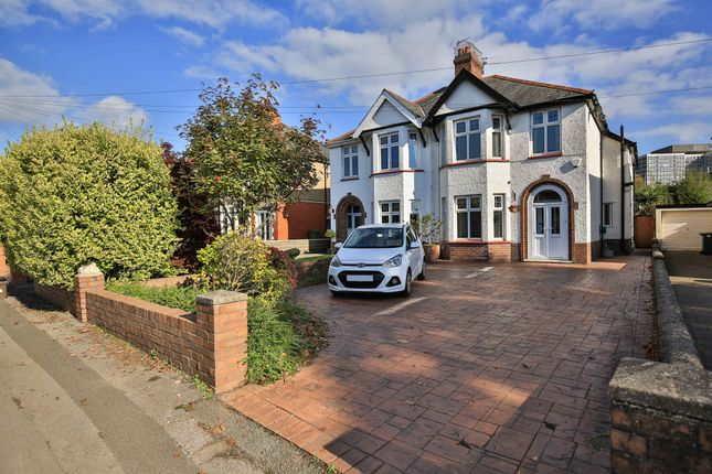 Thumbnail Semi-detached house for sale in Thornhill Road, Llanishen, Cardiff