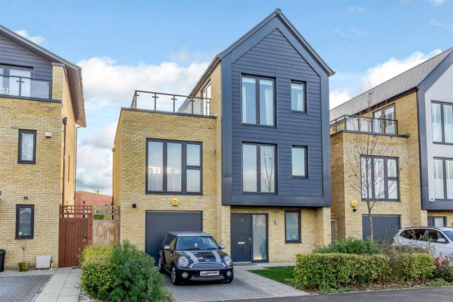 Thumbnail Detached house for sale in Elderberry Close, Romford