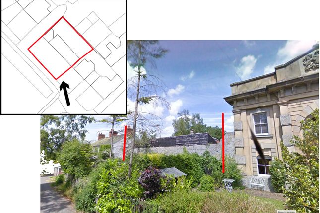 Thumbnail Land for sale in Gaol Road, Montgomery, Powys