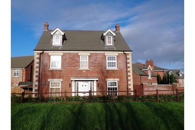 Thumbnail Detached house to rent in Delacorte Green, Spalding